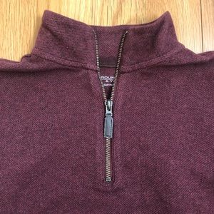 Men's Quarter-zip pullover
